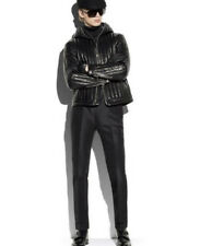 Tom Ford Ovatta Padded Hooded Leather Jacket -With Tags- RRP$11,380AUD