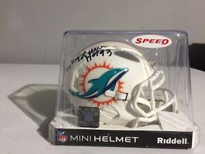Larry Little Signed Mini Helmet W/COA