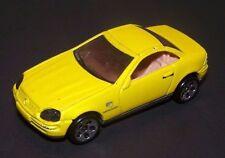 Hot Wheels Mercedes SLK 1997 yellowI