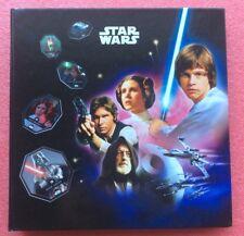 Album COMPLET Jetons STAR WARS 2015 LECLERC Jedi Token