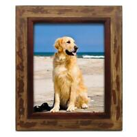 New 8 x 10 Rustic Barn Wood Picture Frame Tabletop Wall Hanging Photo Frames