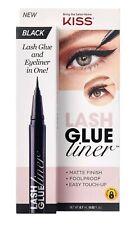New listing New Kiss Lash Glue Liner Black Matte Finish Eyelash Glue 0.02 Fl. Oz.