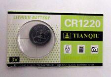 New Original Lithium ION 3V CR1220 CR 1220 CMOS RTC Resume Backup Battery