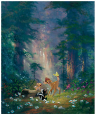 Disney Fine Art Limited Edition Canvas A New Discovery-Bambi-James Coleman