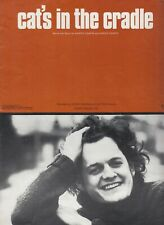 1974 HARRY CHAPIN CAT'S IN THE CRADLE SHEET MUSIC