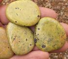 1 x Atlantisite (Stichtite in Serpentine) Palmstone. Ref:MQL.ATP Crystals
