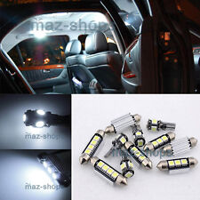 10PC White LED Light Interior Package kit Error Free for MINI Cooper 2007-2012
