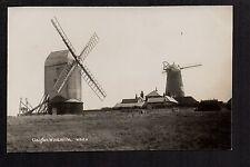 Clayton Windmills - real photographic postcard
