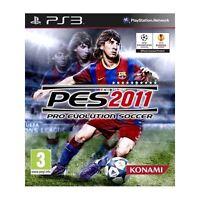 Pes Pro Evolution Soccer 11 2011 PS3 Sigillato 1a Stampa Italiana con manuale