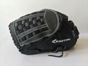 """Easton Mako Elite Black 12.5"""" Baseball/Softball Glove - Left Hand Thrower - New"""
