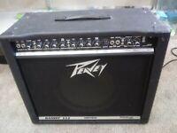 Peavey Bandit 112 Transtube silver stripe USA made guitar amp amplifier