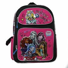 "Monster High 16"" inches Backpack - Scary Licious BRAND NEW Licensed Product"