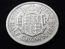 1954 ELIZABETH II HALF-CROWN COIN