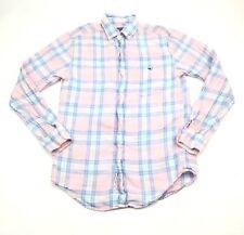 Vineyard Vines Mens Classic Fit Tucker Plaid Button Down Shirt Size Small