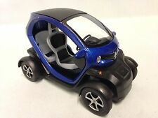 Renault Twizy, 1:18 scale Diecast Car, Pull Back Action, By Kinsfun Toys, Blue