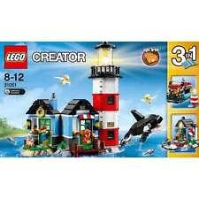 LEGO CREATOR 3 IN 1 FARO, NAVE, CASA DEI GAURDIANI DEL FARO 8-12 ANNI  ART 31051