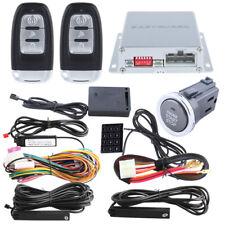 EASYGUARD push button PKE Car Alarm System Shock sensor Remote engine Start