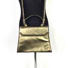 Stuart Weitzman Handbag Metallic Bronze Crossbody