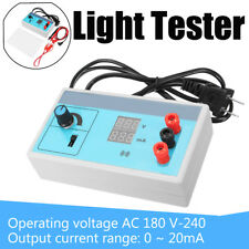 Dual LED Display Screen AC 220V With Light Backlight LCD Bead Tester Board Lamp