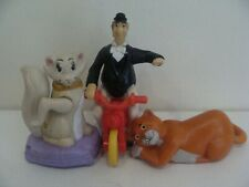 3 x McDonald's Happy Meal Toys - THE ARISTOCATS -Duchesse -Edgard - O'Malley (3)