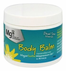 Mg12 Body Balm with Magnesium Oil and Arnica