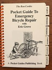 The Ron Cordes Pocket Guide To Emergency Bicycle Repair Pvc Mini Book 1994 Htf