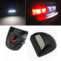 LED License Plate Lights Lamp For 1999-2013 Chevy Silverado Avalanche Bright SMD