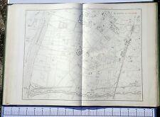 Paris XV ème - Préfet POUBELLE Très Rare Plan de 1888 au 1/5000 (67 x 94 cm)