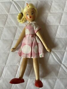 VINTAGE POLAND PEG DOLL