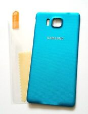 """OEM Battery Door Back Cover for Samsung Galaxy Alpha G850 G850A """"BLUE"""" + S/P ~US"""