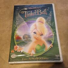 Disney Tinker Bell DVD NEW factory sealed w/ Buena Vista logo on the shrinkwrap