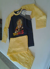 pigiama bimbo in cotone estivo DRAGON BALL Z anni 3 idea regalo natale