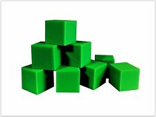 "Foam Pits Blocks 1000 pcs. Lime Green 4""x4""x4"" (1536) Flame Retardant Pit Foam"