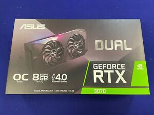 BRAND NEW SEALED ASUS GeForce RTX 3070 Dual-RTX3070-O8G OC Edition - IN HAND!