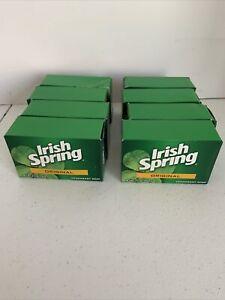 Irish Spring Deodorant Bar Soap Original 8 Bars 3.7 Oz