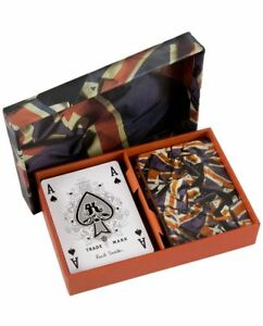 Paul Smith DOUBLE PACK UNION JACK FLAG PLAYING CARDS Brand New in Box