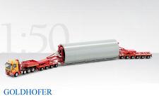 Conrad 70168 Mercedes Actros w/Goldhofer Modular Trailer - W+F Franke 1/50 MIB