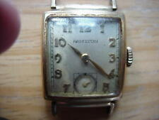 Vintage Wristwatch to Fix Hamilton Men's 14K Gold Filled