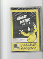 New Sealed MAGIC MATHS Programme On 5.25 Inch Disc For IMB Compatibles