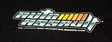 Vintage AUTO ASSAULT Video Game MMporg Mens Graphic T-Shirt XL