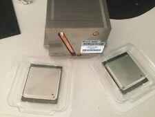HP  Xeon E5-2660 CPU Proliant 670526-001 pair heatsink FAN ML350p g8