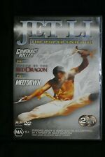 Jet Li 3 Movie DVD Pack,Contract Killer, Red Dragon, Meltdown R4 Pre-owned (D509