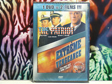 DVD neuf sous blister - 2 FILMS : THE PATRIOT - EXTREME VENGEANCE - Action -