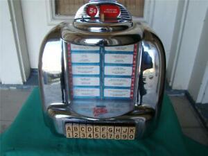 Seeburg 3W1 Wallbox Jukebox