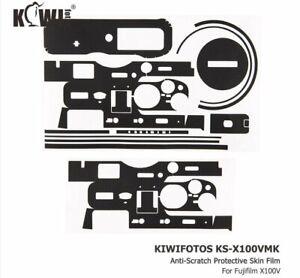 JJC KS-X100VMK Anti-Scratch Protective Skin Film for Fujifilm X100V camera