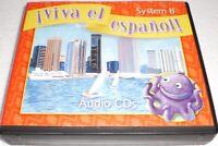 Viva El Espanol System B Complete Set of Audio CDs