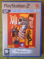 XIII (Sony PlayStation 2, 2003, PAL, PS2, Game, Manual)