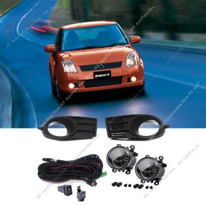 1Set Bumper Light k Fog Lamps w/ Switch Harness Assy for Suzuki Swift 2005-2007