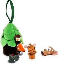 Aurora GRUFFALO'S CHILD FINGER PUPPET & Case Snake Owl Fox Mouse Child Gift