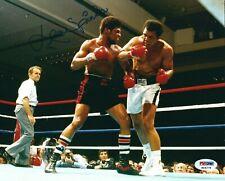 Leon Spinks Signed Boxing 8x10 Photo *vs Muhammad Ali PSA K04278